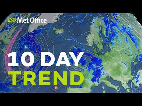 10 Day Trend - wetter then drier, then what? 18/08/21