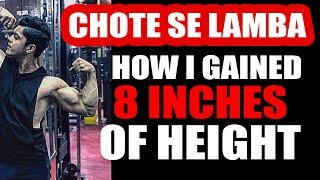 HEIGHT INCREASE - Kaise hua 8 inches lamba in just two years | Only on Tarun Gill Talks thumbnail