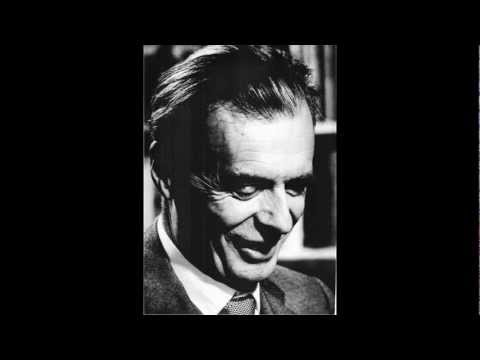 Aldous Huxley on human thought and expression (lecture on language)