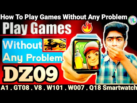 How To Solve Any Gaming Problem In DZ09 Smartwatch | Games Not Installing Problems | You Look