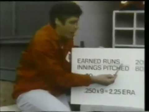 1979 Tom Seaver Big League Tips Baseball Fever Catch It! Commercial