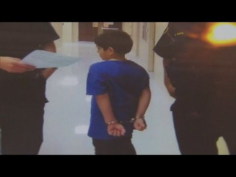 Police handcuff 7-year-old student
