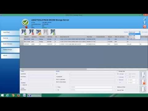 LEADTOOLS DICOM Storage Server