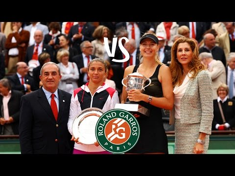Sharapova vs Errani | 2012 Highlights