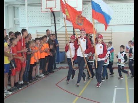 Новый спорткомплекс в селе Каратузское (Енисей Минусинск)
