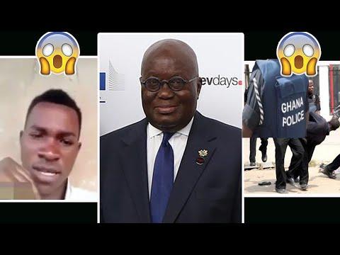 Latest News!! Ghana Police Arrest J.H.S Boy who Insulted Nana Akufo Addo?