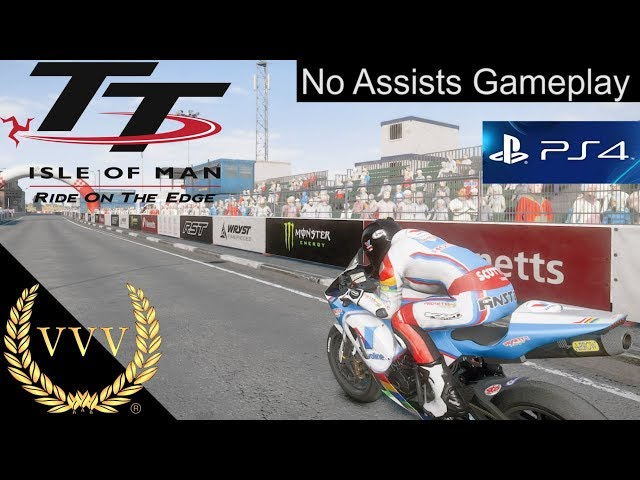 TT Isle of Man: Ride on the Edge PS4 Gameplay | No Assists
