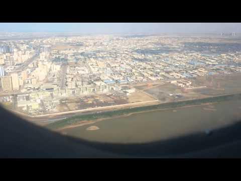 Syrian Airlines Landing At Sharjah International Airport