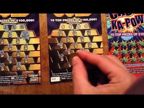 4 -$5 PA Lottery tickets. Good winners!!!