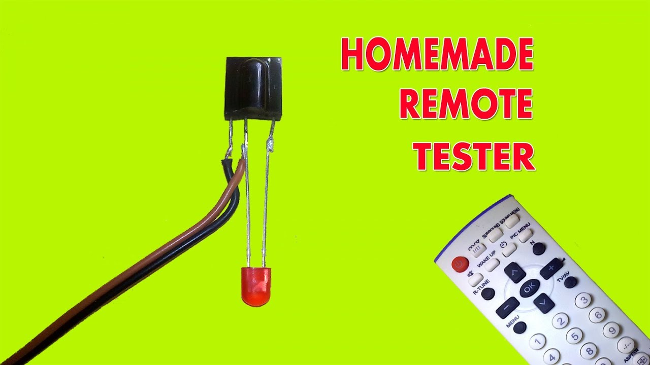 how to make a simple ir remote control tester youtubehow to make a simple ir remote control tester