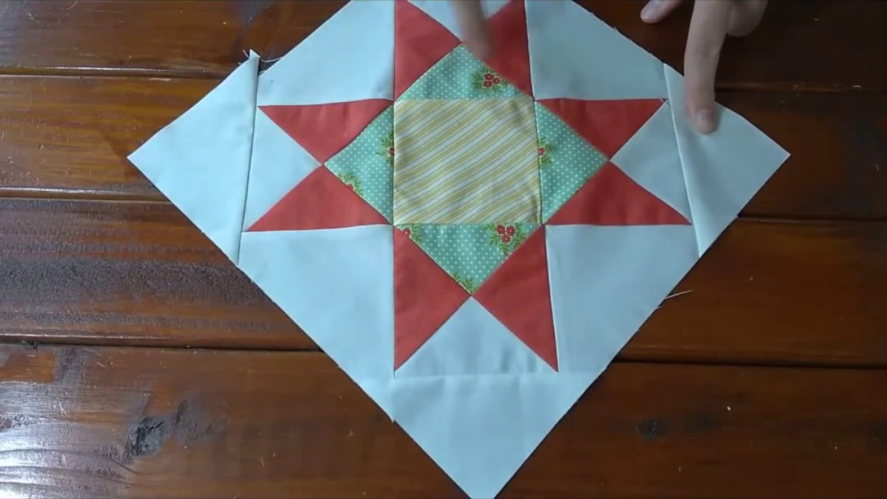 Ohio Star Quilt Block Tutorial On Point Youtube