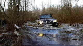Предел Проходимости Адской Просеки В Один Авто ! #Бегемот (Nissan Patrol 42 Колеса )!