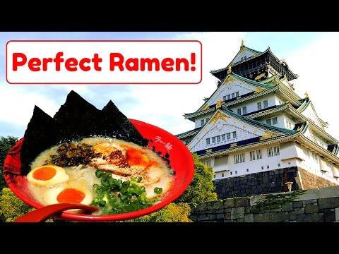 OSAKA CASTLE & BEST RAMEN IN JAPAN