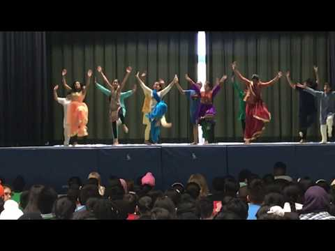 Kiran's Bhangra at Red Willow Public School......