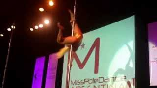 Pole Dance competition final - Miss Pole Dance Argentina & Sudamérica 2013 vid 19