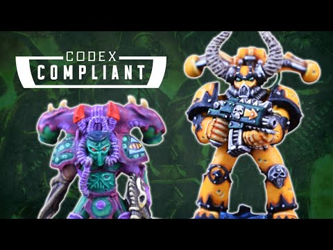 Chaos Space Marine Model Retrospective - Codex Compliant