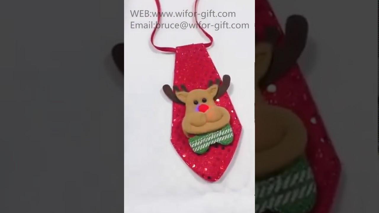 Christmas Tie.Merry Christmas Tie Sparkling Christmas Theme