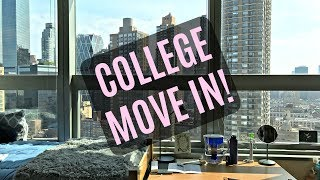 NYC COLLEGE MOVE IN VLOG! 2017