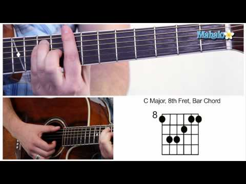 how-to-play-a-c-major-bar-chord-on-guitar-(8th-fret)