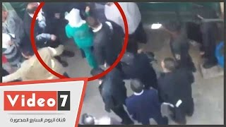 """بالفيديو.. غادة إبراهيم تخرج متخفية فى """"تريننج أخضر"""" من جلسة محاكمتها"""