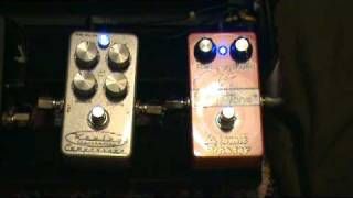Keeley 4 knob compressor  and Modtone Atomic Phaser