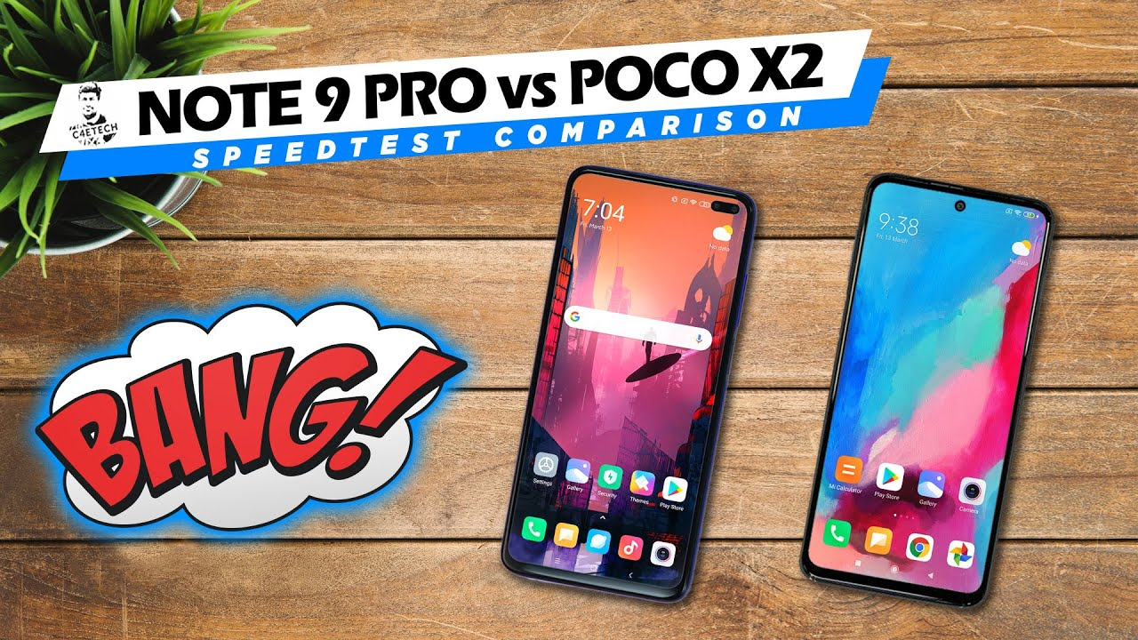 Redmi Note 9 Pro vs POCO X2 Speedtest – Can the 720G Beat the 730G?