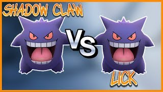 Lick Gengar Vs Shadow Claw Gengar Which Is Better In Pokemon Go?