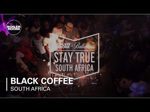 Black Coffee Boiler Room & Ballantine's Stay True South Africa DJ Set