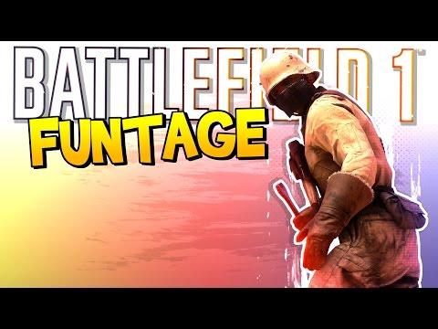 BATTLEFIELD 1 FUNTAGE! - Break Dancing, Wheel Confused & EPIC Snipes!