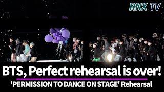 211024 [단독영상] BTS, After the rehearsal going home! - RNX tv