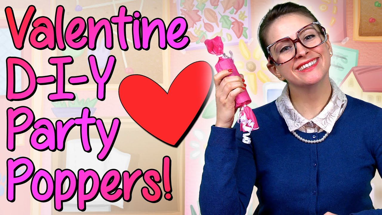 Valentines Day Diy Party Favors Crafts For Kids W Crafty Carol