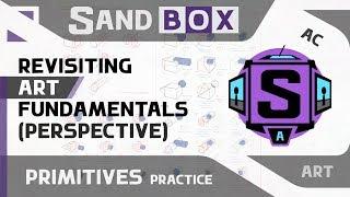 (Пересмотр основ рисования - Перспектива) Creative Sandbox [RUS / eng] - Сессия 8