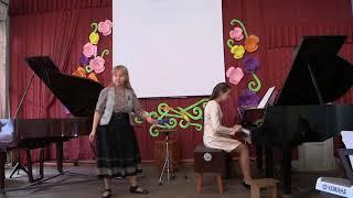 Открытый урок Бизюковой Л.Э.(фортепиано)6 часть