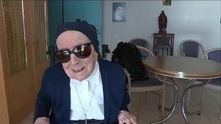 Soeur André, doyenne des Français, fête ses 115 ans à Toulon