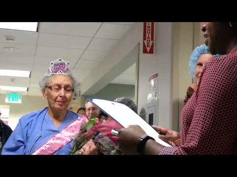 This 'Inspiring' 90-Year-Old Woman Has Served As A Nurse For Nearly 70 Years