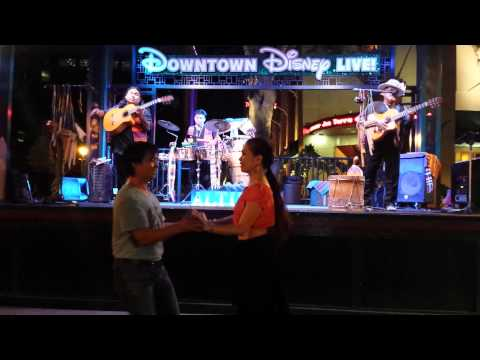 Alturas band at Downtown Disney 😀