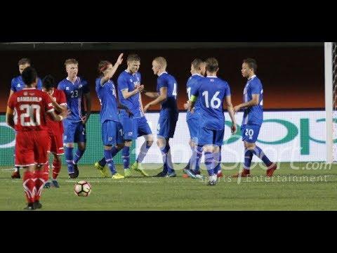 Lucu! OST Captain Tsubasa Iringi Kemenangan 6 0 Islandia Atas Indonesia Selection