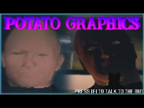 Payday 2 - Potato Graphics #2