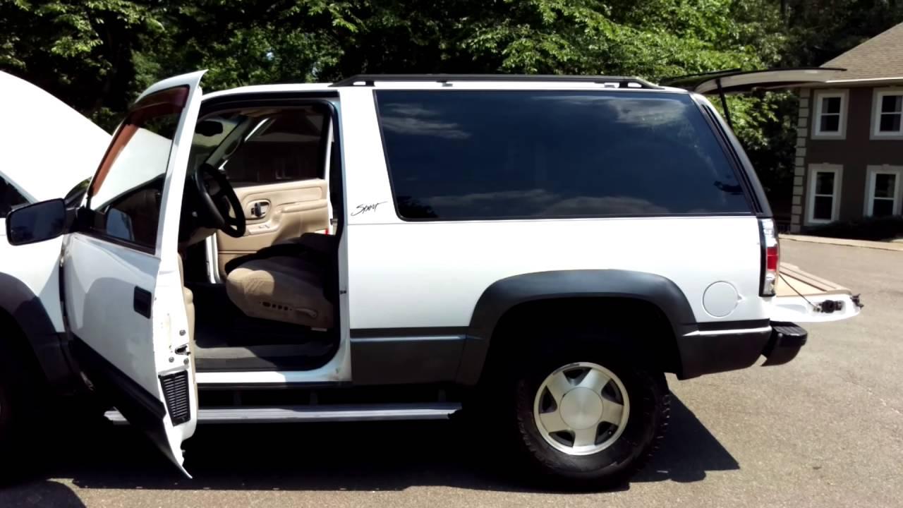 1998 Chevrolet Tahoe Ls 2 Door 4x4 2 Of 3 Youtube