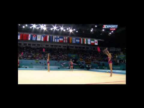 USA Senior Group - 3 Balls 2 Ribbons - Prelims - Kiev 2013 Rhythmic World Championships