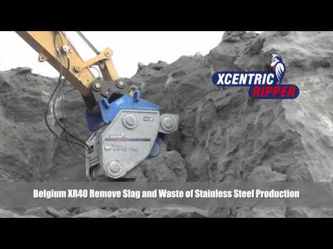 Belgium XR40 Remove Slag and Waste of Stainless Steel Production