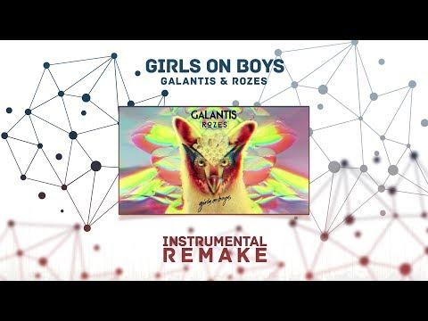 Galantis & ROZES - Girls On Boys (Aldy Waani Instrumental Remake)