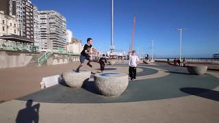 THE KINGS OF PARKOUR and FREERUNNING 2017