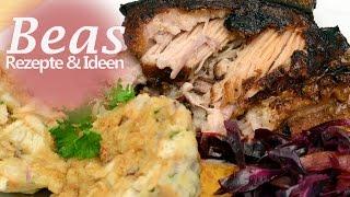 Pulled Pork im Backofen - Rezept mit Schweinenacken und Bauch