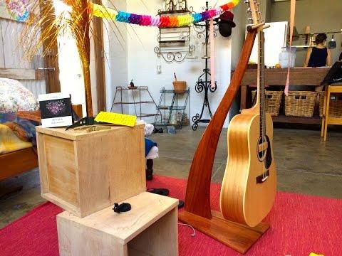 JWS Makes: Beautiful Guitar Stand
