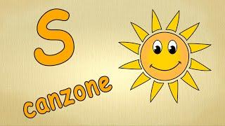 Alfabeto italiano per bambini canzone - La lettera S canzone / Impara canzoni l'italiano per bambini