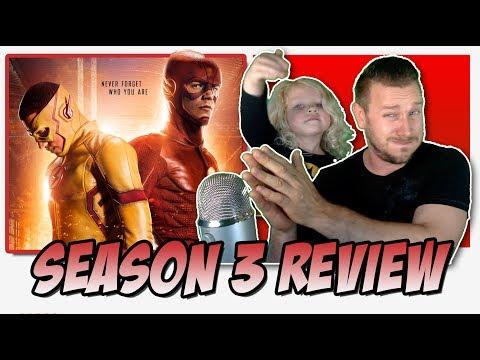 The Flash Season 3 -  TV Review (The Savitar & Flashpoint Season)