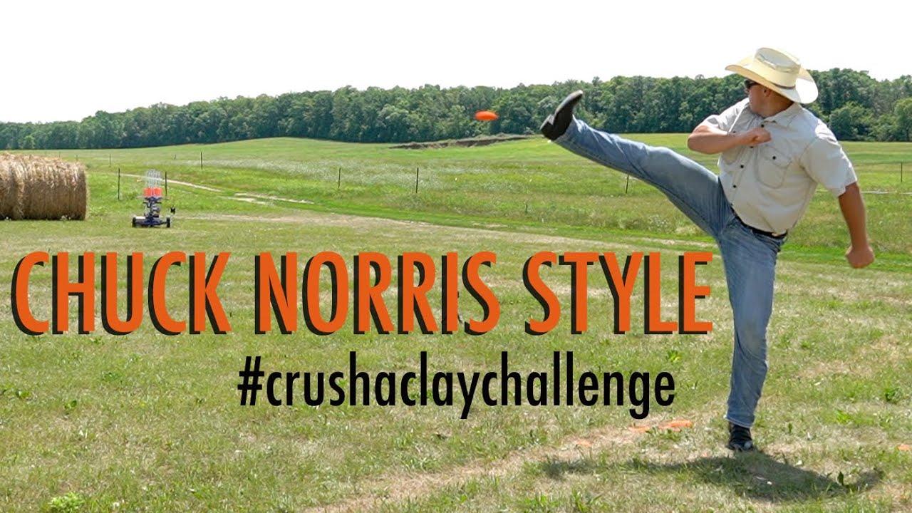 #crushaclaychallenge Chuck Norris Style