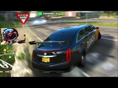 Forza Horizon 4 GoPro : Cadillac Limo 4 Rotor vs V12 Build ! thumbnail