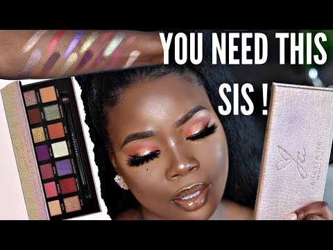 Jackie Aina x ABH palette Review | MsDebDeb thumbnail